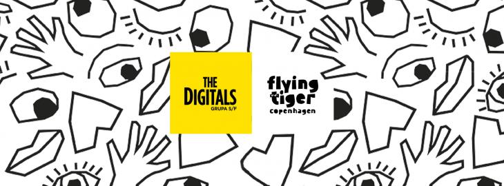 The Digitals, Flying Tiger Copenhage
